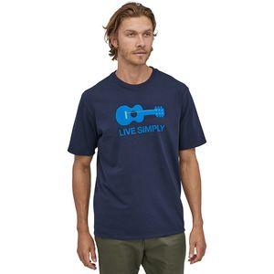 Live Simply Guitar Responsibili-T-Shirt - Men's