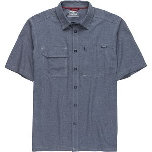 Pacific Trail Crosshatch Short-Sleeve Woven Shirt - Men's
