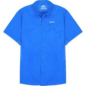 Pacific Trail Vented Panel Performance Short-Sleeve Shirt - Men's