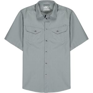 Pacific Trail Yarn Dye Mini Check Short-Sleeve Shirt - Men's
