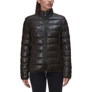 Parajumpers Jodie Leather Down Jacket - Women's