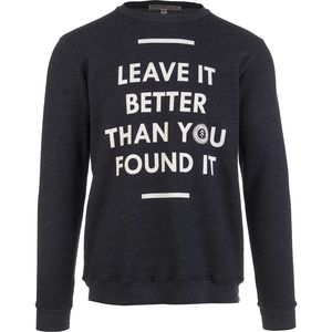 Parks Project Leave It Better Crew Sweatshirt - Men's