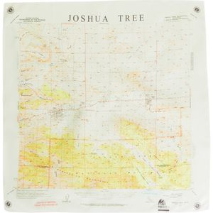 Parks Project Joshua Tree Map Bandana