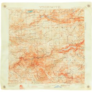 Parks Project Yosemite Map Bandana