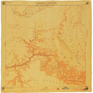 Parks Project Grand Canyon Map Bandana