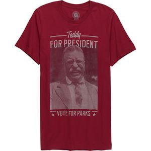 Parks Project Teddy For Prez T-Shirt - Men's
