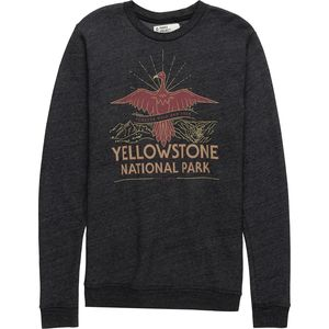 Parks Project Yellowstone Firebird Fleece Crew Sweatshirt - Men's
