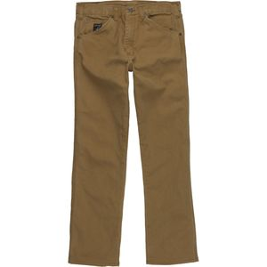 Pointer Brand Premium Wash Brown Duck Denim Pant - Men's