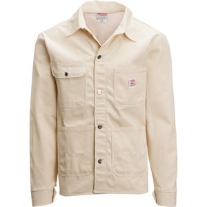 Pointer Brand White Drill Chore Jacket - Men's