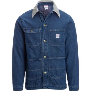 Pointer Brand Blue Denim Barn Coat - Men's