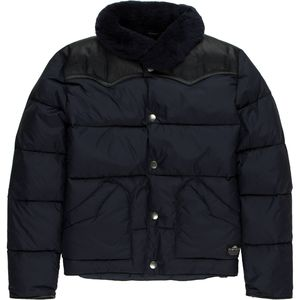 Penfield Rockwool Leather Yoke Down Jacket - Boys'