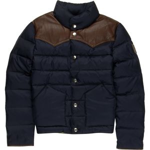 Penfield Pelam Leather Yoke Down Jacket - Boys'