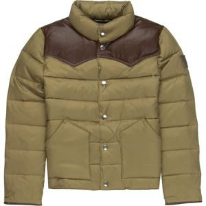Penfield Pelam Leather Yoke Down Jacket - Girls'