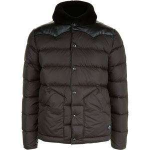 Penfield Rockwool Leather Yoke Down Jacket - Men's