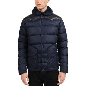 Penfield Rockwool Leather Yoke Down Jacket - Men's