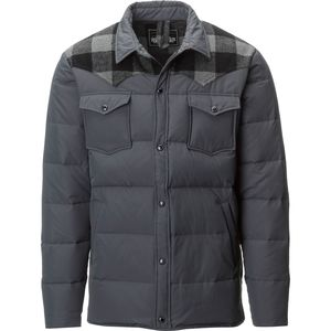 Penfield Rockford Plaid Yoke Down Jacket - Men's