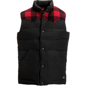 Penfield Rockway Plaid Yoke Down Vest - Men's