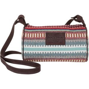 Pendleton Dopp Purse with Leather Strap - Women's