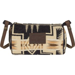 Pendleton Dopp Purse with Leather Strap