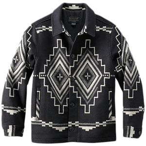 Pendleton Button Front Jacquard Coat - Men's