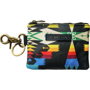 Pendleton Canopy Canvas ID Pouch Key Ring - Women's