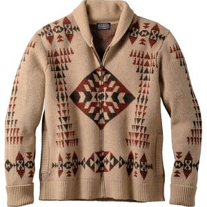 Pendleton Basket Maker Zip Cardigan - Men's