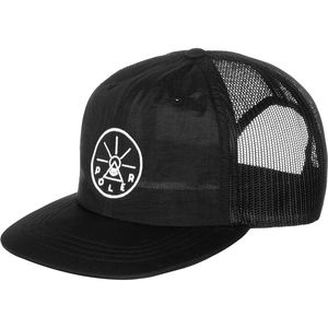 Poler Golden Circle Nylon Floppy Trucker Hat