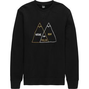 Poler Venn Diagram Crew Sweatshirt - Men's