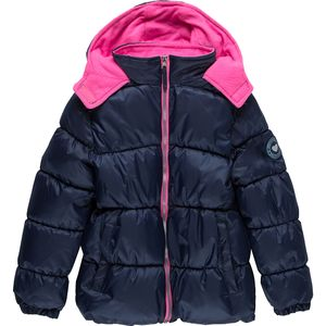 Pink Platinum Mini Ripstop Puffer Jacket - Girls'