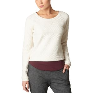 Prana Dimension Crop Sweatshirt - Women's