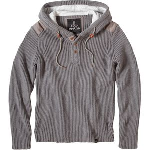 Prana Henley Hooded Sweater - Men's
