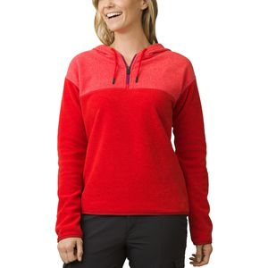 Prana Liora Hooded Pullover Fleece Jacket - Women's