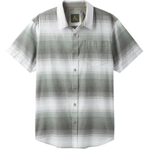 Prana Tamrack Stripe Short-Sleeve Shirt - Men's