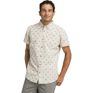 Prana Broderick Slim Short-Sleeve Shirt - Men's