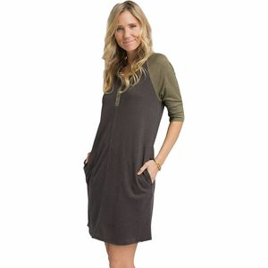Prana Cozy Up Henley Dress - Women's
