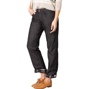 Prana Lined Boyfriend Denim Pant - Women's