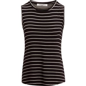 Project Social T Mia Mixed Stripe Muscle Top - Women's