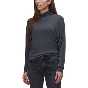 Project Social T Dessa Rib Mockneck Long-Sleeve Top - Women's