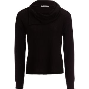 Project Social T Bryon Cozy Thermal Cowl-Neck Top - Women's