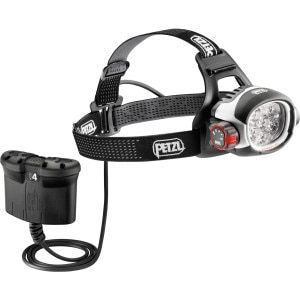 Petzl Ultra Rush Belt ACCU 4 Headlamp