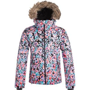 Roxy American Pie Print Jacket - Girls'