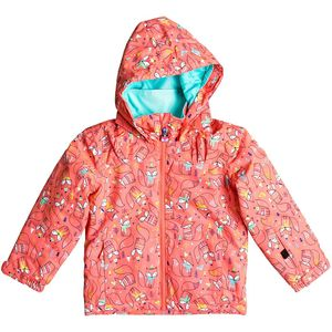 Roxy Mini Jetty Hooded Jacket - Toddler Girls'