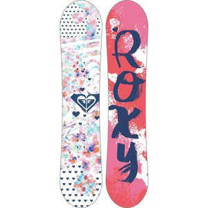 Roxy Poppy XS Snowboard Package - Girls'