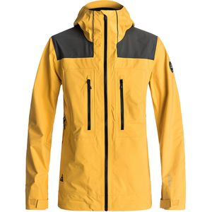 Quiksilver Mamatus 3L Gore-Tex Hooded Jacket - Men's