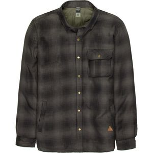 Quiksilver Wildcard Riding Flannel Shirt Jacket - Men's