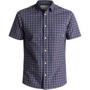 Quiksilver Everyday Check Short-Sleeve Button-Down Shirt - Men's
