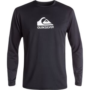 Quiksilver Solid Streak Long-Sleeve Rashguard - Men's