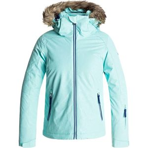 Roxy American Pie Solid Hooded Jacket - Girls'