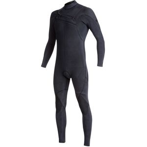 Quiksilver 3/2 Monochrome Azip GBS Chest-Zip Steamer Wetsuit - Men's