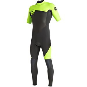 Quiksilver 2/2 Syncro Short-Sleeve Back Zip Wetsuit - Men's